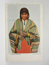 CPA INDIENNE WANITA REDBIRD OLD VINTAGE NATIVE AMERICAN INDIAN CHIEF POSTCARD
