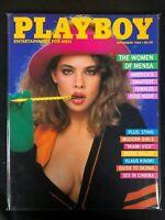 Playboy, magazine, Nov, 1985, Pamela Saunders