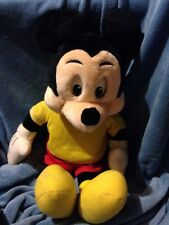 "27"" VINTAGE 1984 WORLDS OF WONDER THE TALKING MICKEY MOUSE PLUSH DOLL"