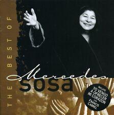 The Best of Mercedes Sosa CD Mercury