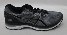 Asics Mens Gel Nimbus 20 Running Shoes T800N 9790 Carbon/Black/Silver Size 14