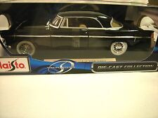 CHRYSLER 300B , 1956 (BLACK 1:18 DIECAST,HARDTOP) BY MAISTO