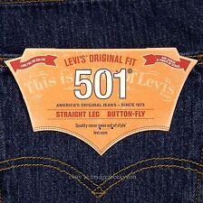 Levis 501 Jeans New Size 36 x 32 DARK STONEWASH Mens Button Fly #453