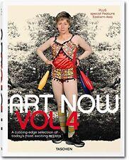 Art Now! Vol. 4 New Hardcover Book Hans Werner Holzwarth