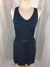 Tommy Bahama Womens Blue Striped Sleeveless Sport Dress S/P NWT Orig $98