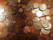 Inglés 100 monedas británico a granel Lote Monedas Victoria Edward George Elizabeth