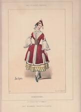 Balli di Società, Ungherese 1860 litografia