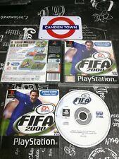Fifa 2000 Ps1 Ottima 1a Edizione Italiana Completa di Manuale