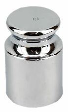 1 LB Pound Cylindrical Scale Calibration Test Weight Scratch and Dent