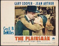 THE PLAINSMAN GARY COOPER Jean Arthur R-1946 Cecil B. DeMille WESTERN