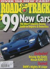 Road & Track magazine 10/1998 featuring BMW M Coupe, Nissan GT1, Ferrari Dino