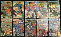 Bronze Age DC Superman Lot of 10 Comics 4 Action Comics + 6 DC Comics Presents