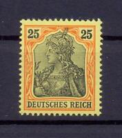 DR 73 Germania 25 Pfg. ohne Wz. ungebraucht geprüft Jäschke-Lantelme (ts247)
