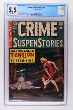 Crime Suspenstories #21 - EC 1954 CGC 5.5