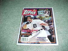 1991 Topps Baseball Magazine Cecil Fielder Cover with Card Sheet #5