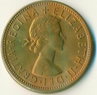 1966 FLORIN TWO SHILLINGS QUEEN ELIZABETH II. UNC WITH TONING  #WT11114