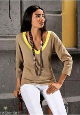 Damen-Pullover & -Strickware mit V-Ausschnitt aus Baumwolle in Größe 40