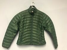 Patagonia Down Sweater Jacket Women Green Size S