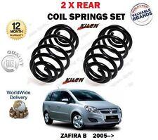 FOR VAUXHALL ZAFIRA B PETROL + CDTI MODELS 2005-> NEW 2 X REAR COIL SPRING SET