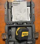 DeWalt DW08801 50 ft. Cross Line Laser Level Red Laser with Case