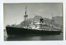 MS Tjitjalengka Photo Postcard - KJCPL Royal Interocean Lines 1885