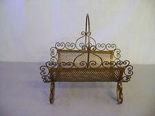 Log Holder firewood cradle carrier Beauty Vintage Handmade Fireplace all Steel