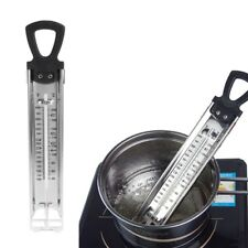 Stainless Steel Kitchen Cooking Deep Fry Thermometer For Jam Sugar Candy Liquid