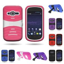 For ZTE Concord 2 II - Shock Proof Rugged Kickstand Phone Cover Case