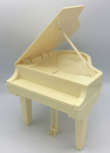 Vintage Mattel Barbie Grand Piano  1981 Used Good Condition Doll Music Classic