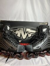 Mission He 150 Helium Hi-Lo Mens Inline hockey Skates Size 11 roller blades