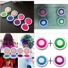 Hot Huez Hues Non-toxic Temporary Hair Chalk Dye Soft Pastels Salon Kit