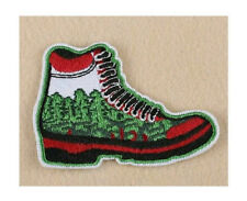 Hiking - Nature Walk - Forest - Wild Life - Camping - Scouts - Iron On Patch