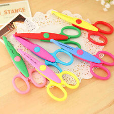 6pcs/Bag Decorative Fancy Edge Cutting Craft Scissors Great for~