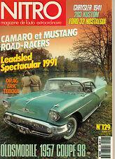 Nitro Magazine de lauto extraordinaire franz. Autozeitschrift Februar 1992 No 12