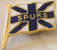 TOTTENHAM HOTSPUR FC Vintage badge Maker COFFER N'ton Brooch pin 24mm x 23mm