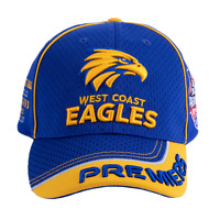 West Coast Eagles AFL Premiers 2018 Premiers Baseball Cap/Hat!  P2 *In Stock*