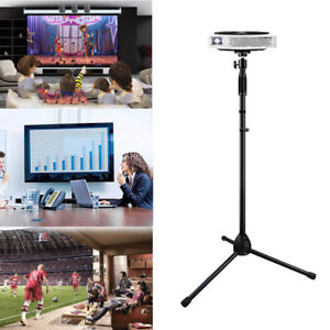 """Adjustable  Projector Stand Heavy Duty Tripod Height 28 To 58"""" For Home Office"""