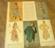 1948 ADVERTISEMENT FASHIONS RAYON DRESSES FROCK JACKET GE IRON COUNTRY GENTLEMAN