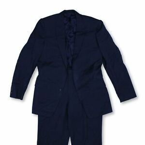 Chester Barrie Men's Two Piece Suit W 36 in Colour: Blue