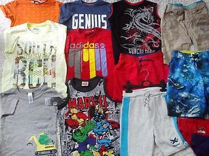 NEXT NIKE WINTER SUMMER 39x NEW USED BUNDLE OUTFITS BOY CLOTHES 5/6 YRS (4)