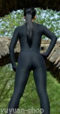 Details about  Black New Lycra Spandex Zentai Catsuit Costume Unisex-- S-XXL