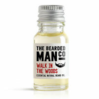 Walk in the Woods Beard Oil The Bearded Man Co Shaving Organic Softner 10ml