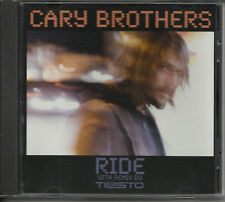 CARY BROTHERS Ride DJ TIESTO REMIX & LIVE TRK PROMO CD