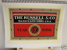 1910 The Russel & Co. Year-Book All Equipment Catalogue Fully Illustrated
