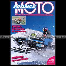 FRANCE MOTO N°255 HONDA CBR 600 F APRILIA CLIMBER RAYMOND ROCHE PARIS-DAKAR 1991