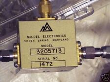 MU-DEL Electronics (S band) Power Splitter