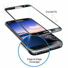 100% Genuine Samsung Galaxy S7 3D Curved Black Tempered Glass Screen Protector