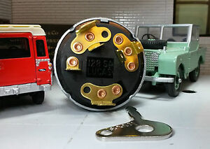 OEM Lucas 530071 277615 Diesel Ignition Switch & Keys Land Rover Series 1 2 2a