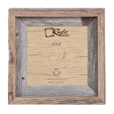 "6x6 - 2"" Wide Signature Reclaimed Rustic Barn Wood Photo Frame"