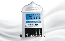 DIGITAL AUTOMATIC ISLAMIC AZAN ALARM WALL DESK CLOCK ADHAN QIBLA SALAH PRAYER